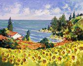 Sea Landscape Painting