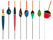 Set Of Floats For Fishing