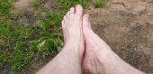 Bare Feet. Bare Mens Feet. Mens Feet. poster