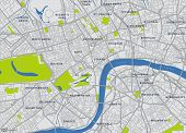 Central London Vector Map