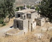 Old Cloister At Preveli In Crete