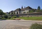 St. Peter im Schwarzwald bei Sommerzeit