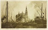 Cartão postal de Antuérpia