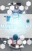 Risk Management And Assessment For Business. poster