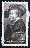 Postage Stamp Germany 1977 Peter Paul Rubens
