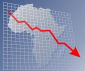 Chart Africa Down