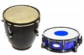 picture of vaudeville  - The image of a drum under a white background - JPG