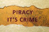 Crime de pirataria