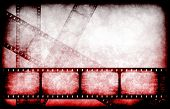 picture of gory  - Abstract Horror Movie Feature Reel as Background - JPG