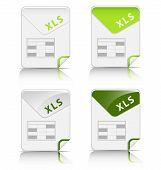 Iconos de tipo de archivo (xls)