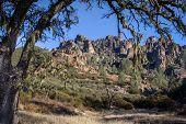 Pinnacles National Monument In California, Usa