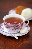 Tea With Rum Cake