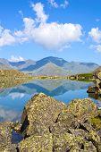 Mountain Range And Glacial Lake