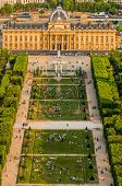 ecole militaire in the city of Paris in france