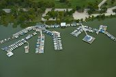 Yacht Club Aerial View