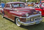 1948 Desoto Car Side View