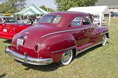 1948 Desoto Car Rear View