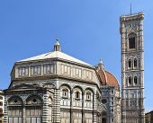 Florence Dome And Campanile, Italy