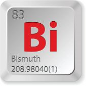 keyboard button bismuth element