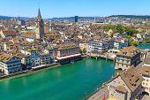 Zurich Cityscape (aerial View)