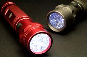 image of diodes  - Two LED Flashlights  - JPG