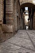 Medieval stone street - Umbria
