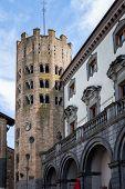 Gothic tower of Sant'Andrea, Italian Architecture - Umbria