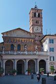 Santa Maria in Trastevere - Rome, Italy