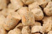 Wood Pellet (pine) Cat Litter Close-up