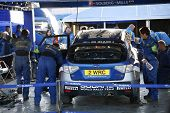 Subaru World Rally Team Garage