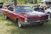 Red 1966 Pontiac Side View
