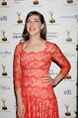 LOS ANGELES - SEP 20:  Mayim Bialik at the Emmys Performers Nominee Reception at  Pacific Design Cen