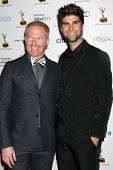 LOS ANGELES - SEP 20:  Jesse Tyler Ferguson, Justin Mikita at the Emmys Performers Nominee Reception