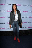 LOS ANGELES - SEP 19:  Garcelle Beauvais at the People Stylewatch Hollywood Denim Partyy at Palihous