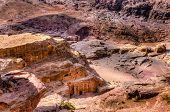 stock photo of empty tomb  - Petra - JPG