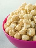 Bowl Of Toffee Popcorn