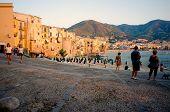 Sicilian sunset