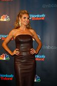 NEW YORK-AUG 28: Judge and supermodel Heidi Klum attends the post-show red carpet for NBC's