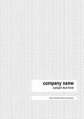 Black And White U Pattern Business Background