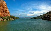 Dam lake Hartbeespoortdam