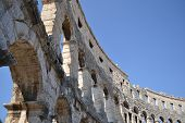 The Amphitheater of Pula.
