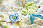 picture of bodysuit  - Layette for newborn baby boy - JPG