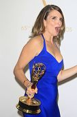 LOS ANGELES - SEP 22: Tina Fey in the press room during the 65th Annual Primetime Emmy Awards held a