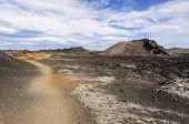 Krafla Caldera Lava Field in Iceland