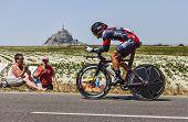 The Cyclist Ama�l Moinard