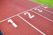 Race Track For Running