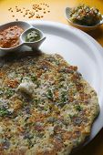 stock photo of urad  - Dal Adai is a type of Dosa which contains chana dal - JPG