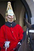 Royal Horseguard In London