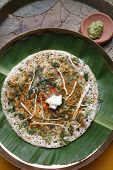 Methi dosa - a pancake from South India