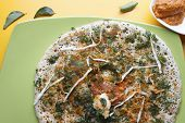 Methi dosa - a pancake from South India